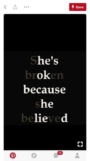 shes broken